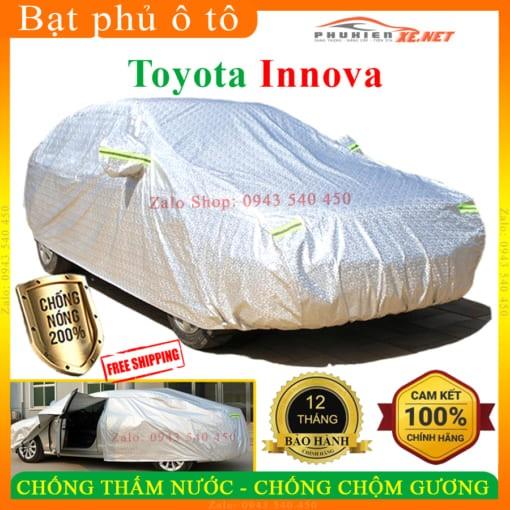 Bạt Che Phủ Xe Toyota Innova CAO CẤP 3 LỚP - PHUKIENXE