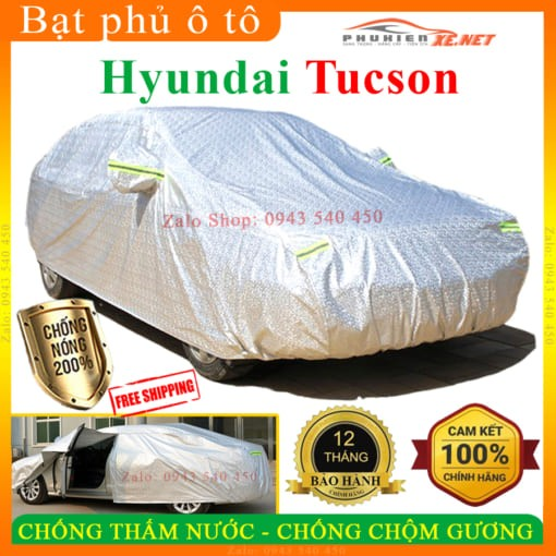 Bạt Che Phủ Xe Hyundai Tucson CAO CẤP 3 LỚP - PHUKIENXE