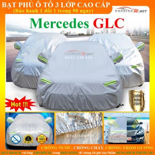 Bạt phủ ô tô Mercedes Benz GLC Cao cấp