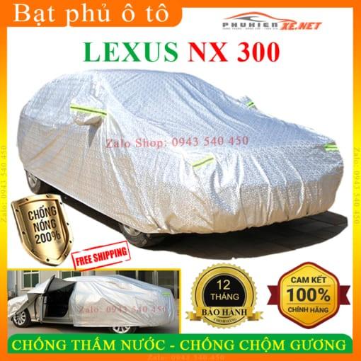 Bạt Che Phủ Xe Lexus NX 300 CAO CẤP 3 LỚP - PHUKIENXE