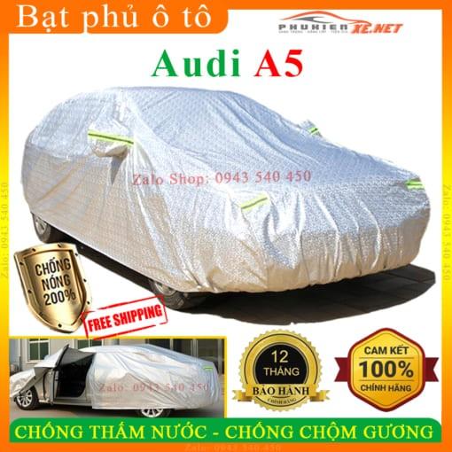 Bạt Che Phủ Xe Audi A5 CAO CẤP 3 LỚP - Bạt phủ ô tô